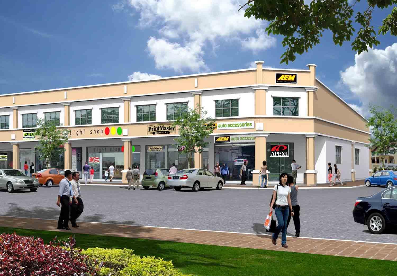 chengutaman 1.5 storey shop